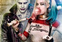 Harley queen and joker