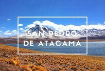 San Pedro de Atacama / Paisajes de #SanPedrodeAtacama #SanPedroOfAtacama #Chile