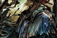Art of Bloodborne / A hunter must hunt