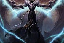 Game Art / Diablo, God of War