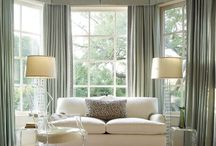 Window treatments / Lovely design inspiration for drapery
