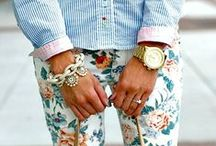 Casual Summer Style / The looks and loves of Summer.