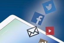 Social Media / Facebook, Twitter, Pinterest... ils y sont tous !  / by le collectif Orange