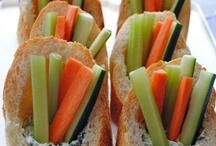 Snacks / Snack food inspiration.