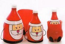 Manualidades Navidad {reciclado} / Craft Christmas {recycled}