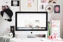 Girly Workspace / by Emily QueenVelvet Johnson