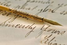 calligraphy | the scribe / by Dona