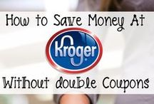 Kroger Grocery Store / Recipes and DIY Ideas that you can make when you shop at Kroger Grocery Store.  / by Stockpiling Moms