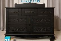 nursery storage / stylish ways to maximize your space. / by Bratt Decor