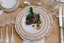 Table setting and table scapes