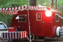 Vintage travel trailer and remodeling  Plus great decks / Remodeling vintage Travel Trailers! / by Sandy Duncan