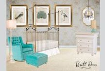 hot nursery design boards / by Bratt Decor