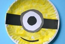 Manualidades con platos de papel / #platos #papel #manualidades #craft #kids #niños
