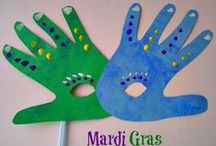 Mardi Gras / Mardi Gras Recipes, Crafts and DIY and activities to help you plan your Mardi Gras celebration. Ways to celebrate Fat Tuesday!