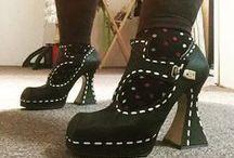 FLUEVOG SHOES / John Fluevog - shoe designer.