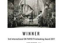 3rd ANNUAL On PAPER INTERNATIONAL PRINTMAKING CONTEST 2017 / Barcelona / Chicago  The 3rd Annual ON PAPER International Printmaking Contest 2017 is now open for submission.   1st Prize 1000€ 2nd Prize AWAGAMI AWARD 100 sheets of AWAGAMI edition gin paper worth 500€.  Shortlisted and winning artists´ exhibition at Chicago Printmakers Collaborative July 8th - August 31st 2017.   Deadline April 1st 2017.  Rules and application at:  www.onpapercontest.com