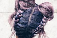 Değişik saç stilleri