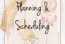 Planning and Scheduling / This board contains productivity tips for entrepreneurs, small business owners, freelancers and bloggers. Productivity apps, planners, goal setting and how to become more organized and efficient are just some of the pins included here.