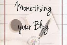 Monetize Your Blog / Ready to monetize your blog and turn it into a successful business? Here's how to make money online using affiliate links, sponsored posts, advertising and creating your own products. Everything you need to help turn your blog into a business.