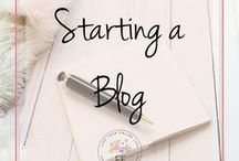 Starting a Blog | Blogging Tips for Beginners / This board is jam packed with blogging tips for beginners. Learn how to start a blog, grow blog traffic and build a loyal following. Includes WordPress, Squarespace, blog design, social media tips and email lists for bloggers. Everything you need to get started as a new blogger.