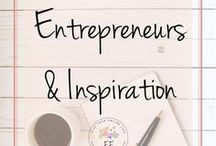 Entrepreneurs & Inspiration / A board solely dedicated to entrepreneurs and bloggers who inspire me! Any income report or blogging journey/story that gives me hope and inspiration can be found here.