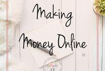 Making Money Online | Working from Home / This board contains everything you need to make money online. Ideas include monetizing your blog, becoming a VA and how to open a store on Etsy. Now is the time to become a work from home entrepreneur!