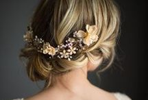 Bridal, Prom and Red Carpet Hairstyles / A collection of our favourite Bridal, Prom and Red Carpet Hairstyles