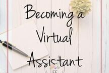 Becoming a VA / Everything you need to know about becoming a Virtual Assistant and running your own VA service