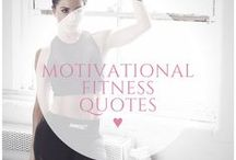 ♥ fitness motivation / Feeling low? Unmotivated? Take a read through these empowering quotes to kick yourself back into action! Find weight loss and fitness motivation and quotes. Keep on track and you will get the body, and the confidence you desire!