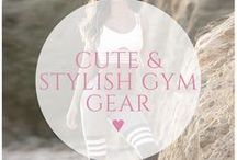 ♥ cute gym gear / Get inspired by the latest gym fashion. We find the cutest athleisure clothes so you can keep your fitness look on point ❤️
