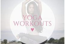 ♥ yoga workouts / Relax your mind and work your body with these amazing yoga workouts!