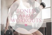 ♥ toned arms workouts / Banish bingo wings with these workouts designed to develop toned, sexy arms!