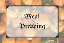 Food • Meal Prepping / Top tips for meal and food prep, and inspiration including salads in jars and the best chicken marinades!