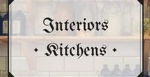 Interiors • Bright Kitchen / The kind of kitchens you imagine yourself successfully baking in...