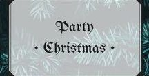 Party • Christmas / Christmas party recipes, ideas and inspiration! #christmas #party #festive