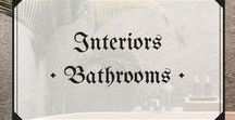 Interiors • Relaxing Bathrooms / The best of bathrooms #interiordesign #bathroom #relaxing #style