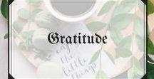 Gratitude / Gratitude and positivity :)