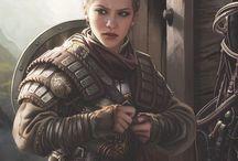 Warriors | Female Characters / Female Warriors | Female Fighters | Warriors