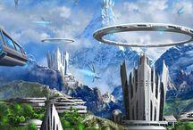 Storyboard | Sci-Fi / Sci-Fi | Science Fiction | Science Fiction Inspiration | Science Fiction Worlds