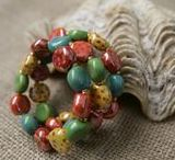Lovely Bracelets / Kazuri beads Bracelets for every occasion and every outfit!