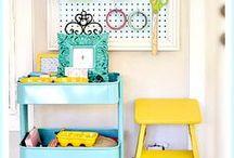 Scrap and Craft Rooms + Organization