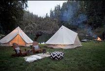 cabinz + campfirez + tentz, oh my!