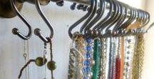 Organize: Jewelry / Organize your jewelry - functional and beautiful ideas.