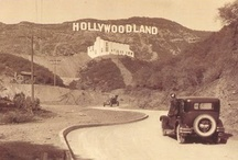 Hollywood  Then - 1 of 2 / . / by Karla Mitchell