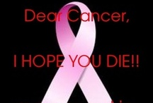 Dear Cancer - I Hope You Die / I spent a lot of time in my nursing career taking care of cancer patients.  It was an honor and a privilege to  care for such courageous people, and it has left a lasting impression on me.  I will cherish those memories forever, and I think of all of you continuously! / by Nicole Souders