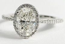 Rings / Engagement rings, wedding bands, and plenty of blingy inspiration for all styles of brides.