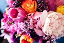 Flowers for Weddings / Gorgeous flowers, bouquets, and centerpieces for beautiful, natural and colorful wedding decor.
