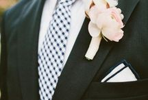 Grooms & Groomsmen / Styling ideas for the groom and his groomsmen. / by Dress for the Wedding