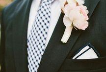Grooms & Groomsmen / Styling ideas for the groom and his groomsmen.