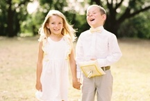 Flower Girls & Ringbearers / Pretty little dresses for flower girls and young lady wedding guests. Dapper suits for ring bearers and fine little fellows.